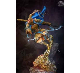 Mythology Series Statue The Monkey King Blue Version 60 cm