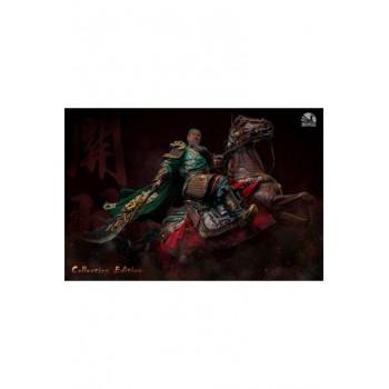 Three Kingdoms: Five Tiger Generals Series Statue Guan Yu Elite Edition 81 cm