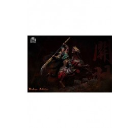 Three Kingdoms: Five Tiger Generals Series Statue Guan Yu Deluxe Edition 94 cm
