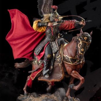 Three Kingdoms Five Tiger Generals Huang Zhong 1/4 Scale 78 cm