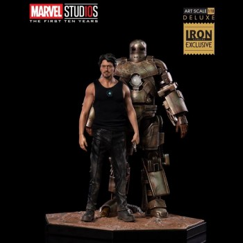 Tony Stark and Mark I Art Scale 2018 Exclusive