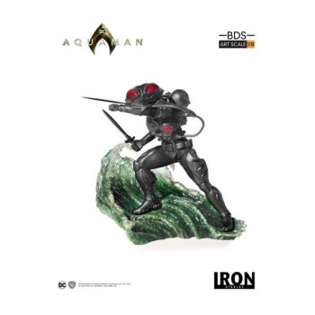Aquaman BDS Art Scale Statue 1/10 Black Manta 20 cm