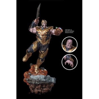 Avengers Endgame BDS Art Scale Statue 1/10 Thanos Deluxe Version 36 cm