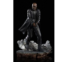Spider-Man Far From Home BDS Art Scale Deluxe Statue 1/10 Nick Fury 20 cm