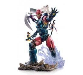 Marvel Comics BDS Art Scale Statue 1/10 X-Men Vs Sentinel #3 Deluxe 87 cm