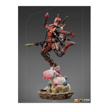 Marvel Comics Deluxe BDS Art Scale Statue 1/10 Deadpool 24 cm
