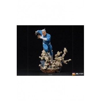 Marvel Comics BDS Art Scale Statue 1/10 Quicksilver 21 cm