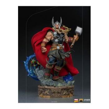 Marvel Comics Deluxe Art Scale Statue 1/10 Thor Unleashed 28 cm