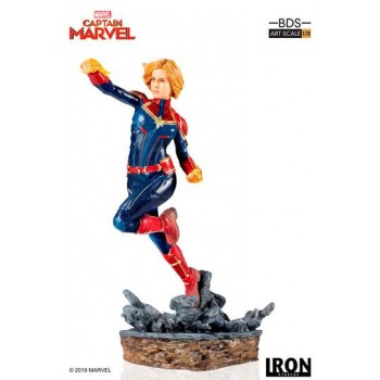 Marvel Comics BDS Art Scale Statue 1/10 Captain Marvel 20 cm