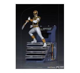 Power Rangers BDS Art Scale Statue 1/10 White Ranger 22 cm