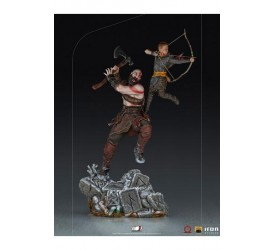 God of War BDS Art Scale Statue 1/10 Kratos and Atreus 34 cm