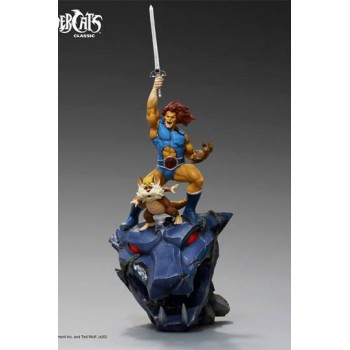 Thundercats BDS Art Scale Statue 1/10 Lion-O and Snarf Deluxe 43 cm