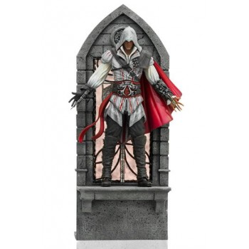 Assassin's Creed II Art Scale Statue 1/10 Ezio Auditore Deluxe 31 cm