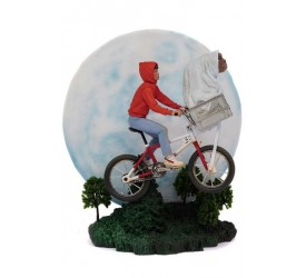 E.T. the Extra-Terrestrial Deluxe Art Scale Statue 1/10 E.T. and Elliot 27 cm