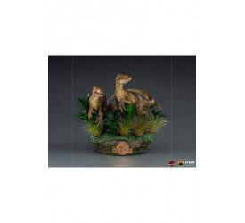 Jurassic Park Deluxe Art Scale Statue 1/10 Just The Two Raptors 20 cm