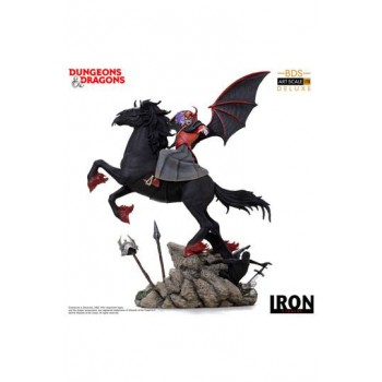 Dungeons & Dragons Deluxe BDS Art Scale Statue 1/10 Venger with Nightmare & Shadow Demon 44 cm