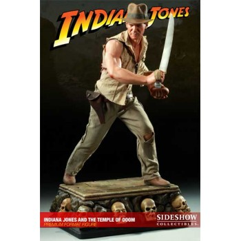 Indiana Jones Premium Format Figure 1/4 The Temple of Doom 51 cm