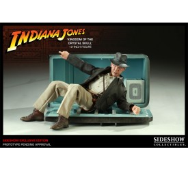 Indiana Jones and the Kingdom of the Crystal Skull Action Figure Indy Exclusive 30 cm