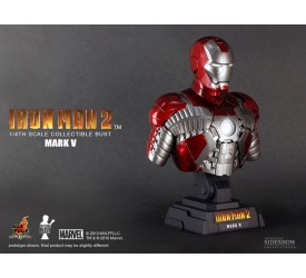 Iron Man 2 Bust 1/4 Iron Man Mark V 24 cm
