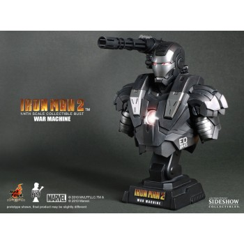 Iron Man 2 Bust 1/4 War Machine 23 cm