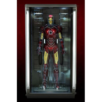 Iron Man 2 Diorama 1/6 Hall of Armor single piece 34 cm