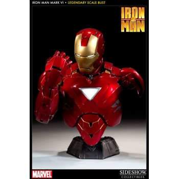Iron Man 2 Legendary Scale Bust 1/2 Iron Man Mark VI 41 cm