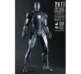 Iron Man 2 Movie Masterpiece Action Figure 1/6 Iron Man Mark IV Secret Project 30 cm