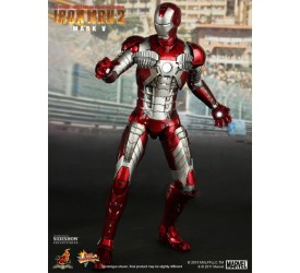 Iron Man 2 Movie Masterpiece Action Figure 1/6 Iron Man Mark V 30 cm