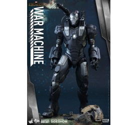Iron Man 2 Movie Masterpiece Diecast Action Figure 1/6 War Machine 32 cm