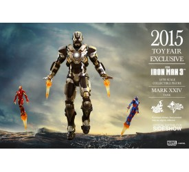 Iron Man 3 Iron Man Mark XXIV the Tank 1/6 scale action figure 2015 Toy Fair Exclusive 30 cm