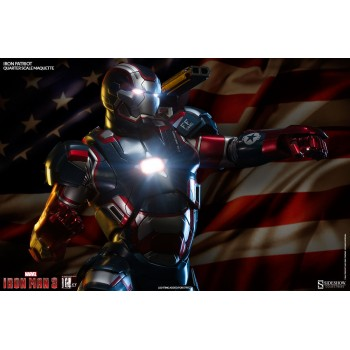 Iron Man 3 Iron Patriot Quarter Scale Maquette 56cm