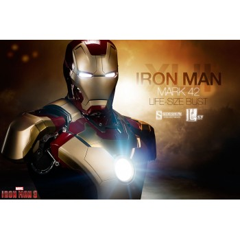 Iron Man 3 Life Size Bust 1/1 Iron Iron Mark 42 66 cm