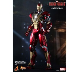 Iron Man 3 Movie Masterpiece Action Figure 1/6 Iron Man Mark 17 XVII Heartbreaker 30 cm