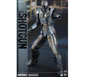 Iron Man 3 Movie Masterpiece Action Figure 1/6 Iron Man Mark XL Shotgun 30 cm