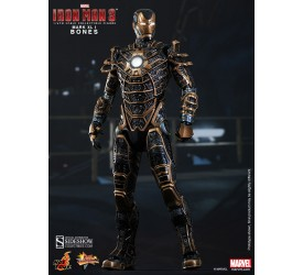 Iron Man 3 Movie Masterpiece Action Figure 1/6 Iron Man Mark XLI Bones 30 cm