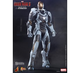 Iron Man 3 Movie Masterpiece Action Figure 1/6 Iron Man Mark XXXIX Starboost 30 cm