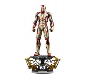 Iron Man 3 QS Series Action Figure 1/4 Iron Man Mark XLII Deluxe Version 51 cm