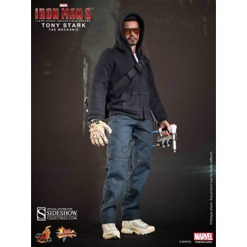 Iron Man 3 Tony Stark The Mechanic Sixth Scale Figure 30cm
