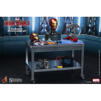 Iron Man 3 Workshop Accessories Iron Man Collectible Set