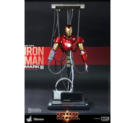 Iron Man Diorama 1/6 Iron Man Mark III Construction Version 39 cm