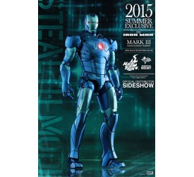 Iron Man MMS Diecast Action Figure 1/6 Iron Man Mark III Stealth Mode Version Summer Exclusive 30 cm