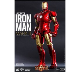 Iron Man MMS Diecast Action Figure 1/6 Iron Man Mark III 30 cm