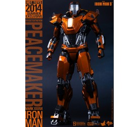 Iron Man Mark XXXVI Peacemaker 1/6 scale figure 34 cm