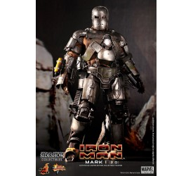 Iron Man Movie Masterpiece Action Figure 1/6 Iron Man Mark I 2.0 30 cm