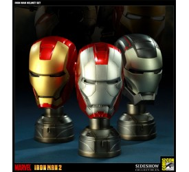 Iron Man Replicas 1/3 Helmets SDCC 2011 Exclusive Version Set 16 cm