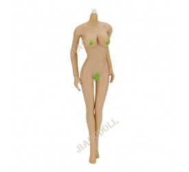 Jiaou Doll Version 3.0 1/6 Scale Female Body With Big Breast ​Wheat-Colored Skin