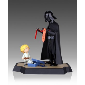 Jeffrey Brown's Darth Vader and Son Maquette and Book