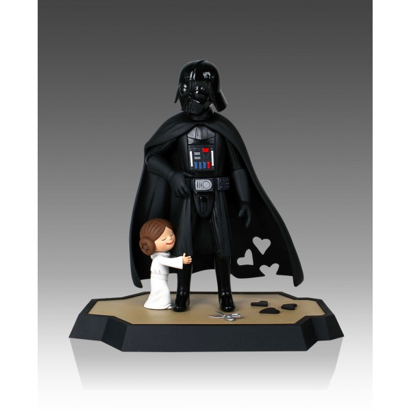 Jeffrey Brown S Darth Vader S Little Princess Maquette And