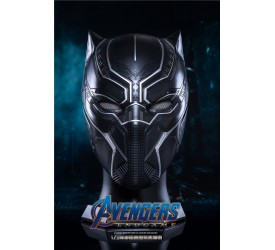 Black Panther 1/1 Scale High End Replica Collectible Helmet Wearable (Base excluded)