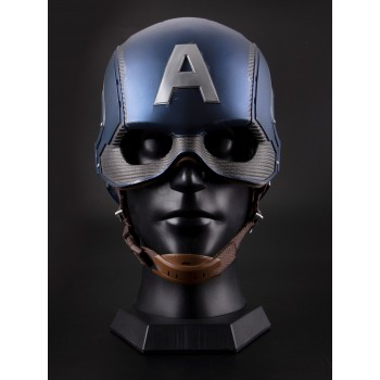Killerbody Captain America Wearable Helmet 1/1 Life Size Replica (Base Excluded)